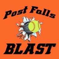 Post Falls Blast logo