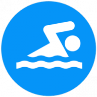 Blue Dolphin Swim Team-Mary Wayte Pool logo