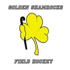 Golden Shamrocks Field Hockey Team logo