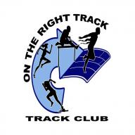 On The Right Track Track Club logo