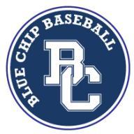 Blue Chip Baseball Academy logo