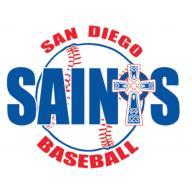 San Deigo Saints Baseball  logo