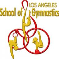 Los Angeles School of Gymnastics logo