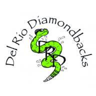 Del Rio Diamondbacks Swim Team logo