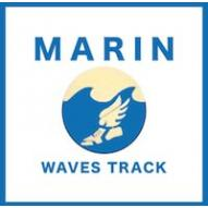 Marin Waves Track & Field Club logo