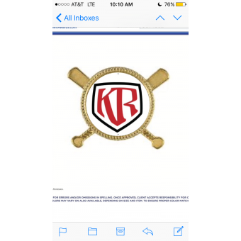 Knapp Ranch Baseball logo